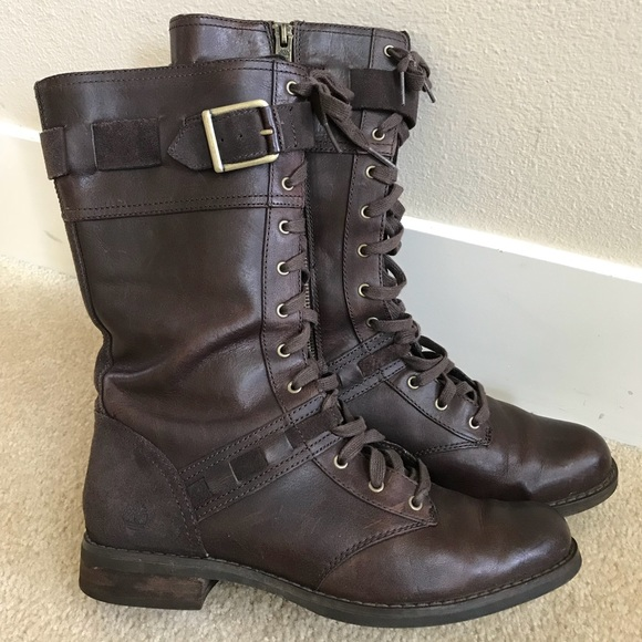 b229e61dcdf Timberland Women's Savin Hill Mid Lace Boots